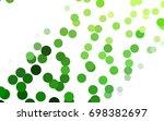 light green vector modern...   Shutterstock .eps vector #698382697