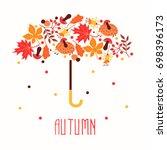 Hello Autumn. Hand Drawn...