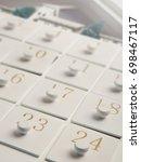advent calender | Shutterstock . vector #698467117