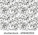 terrazzo pattern. endless...   Shutterstock .eps vector #698483503