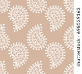 wallpaper seamless pattern.... | Shutterstock .eps vector #698529163