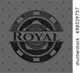 royal black emblem | Shutterstock .eps vector #698529757