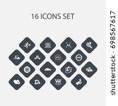 set of 16 editable complex...