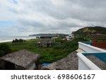 the ecuadorian coast near canoa ... | Shutterstock . vector #698606167