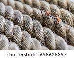 miniature figure working in... | Shutterstock . vector #698628397