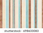 watercolor blue  beige and... | Shutterstock . vector #698633083