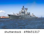 kronshtadt  russia   july  30 ...   Shutterstock . vector #698651317
