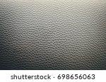 grey leather texture   Shutterstock . vector #698656063