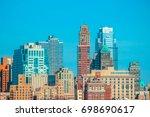 manhattan  ny. | Shutterstock . vector #698690617