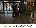 barcelona  spain   august 17 ... | Shutterstock . vector #698698603