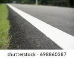 blur athlete runner feet... | Shutterstock . vector #698860387