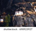 taktshang goemba   Shutterstock . vector #698923927