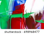 painted abstract background | Shutterstock . vector #698968477