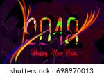 images for greeting card...   Shutterstock . vector #698970013