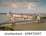 budapest hungary | Shutterstock . vector #698973397