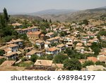 sirince village in selcuk ... | Shutterstock . vector #698984197