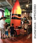 Small photo of EASTON, PA - JUN 10: Crayola Experience in Easton, Pennsylvania, as seen on Jun 10, 2017. It is a crayon-centric warehouse with colorful kid-friendly activities.