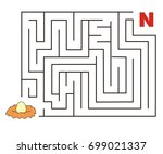 maze puzzle game letter n for...