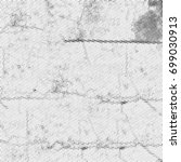 grunge halftone black and white.... | Shutterstock . vector #699030913