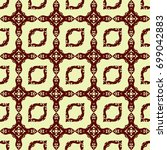batik ornament pattern | Shutterstock .eps vector #699042883