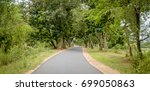 indian highway. | Shutterstock . vector #699050863