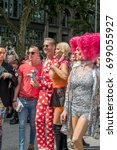 Small photo of Hamburg Germany 08/05/2017 -CSD Hamburg - Christopher Street Day - annual European LGBT celebration and demonstration against discrimination and exclusion