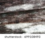 blurred old skin wood background | Shutterstock . vector #699108493