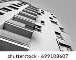 modern  luxury apartment... | Shutterstock . vector #699108607