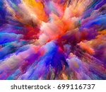 color explosion series.... | Shutterstock . vector #699116737