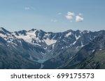 Top View Of The Valley Between...