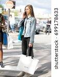 paris october 2  2016. top...   Shutterstock . vector #699178633