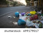 garbage on the streets | Shutterstock . vector #699179017