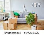 conceptual shot of home... | Shutterstock . vector #699238627