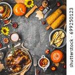 Thanksgiving Dinner Background...