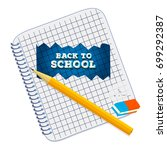 design template with vector...   Shutterstock .eps vector #699292387