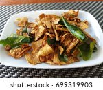 laos food  esan food  local...   Shutterstock . vector #699319903