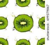 seamless vector abstract... | Shutterstock .eps vector #699379867