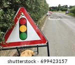 County Road Traffic Light Road...