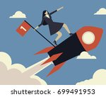 business concept of... | Shutterstock .eps vector #699491953