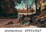 central park autumn and... | Shutterstock . vector #699514567