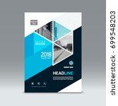 cover design  corporate... | Shutterstock .eps vector #699548203