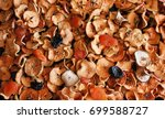 dried fruits  apples  pears ...   Shutterstock . vector #699588727