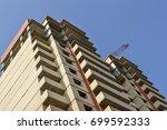 multi storey building.... | Shutterstock . vector #699592333