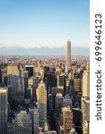 new york  usa   april  25  2015 ... | Shutterstock . vector #699646123