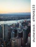 new york  usa   april  25  2015 ... | Shutterstock . vector #699646153