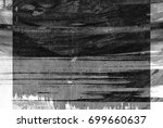 black and white abstract... | Shutterstock . vector #699660637