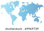 abstract computer graphic world ... | Shutterstock . vector #69969739