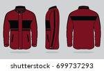 red jacket design | Shutterstock .eps vector #699737293