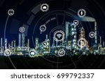 smart factory concept. internet ... | Shutterstock . vector #699792337