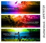 Set Of Rainbow Backgrounds   3...